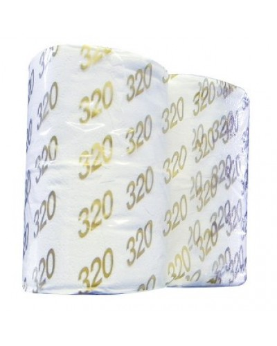 Toilet Roll Gold