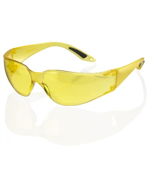 Glasses Yellow Vegas Safety 3,03 Eye & Face Protection BBVSS2YC bcm safety