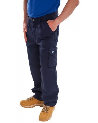 Trousers Traders Navy