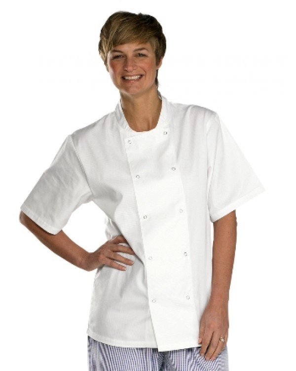 Chefs Jacket White 20,33 Chefs Clothing BCCCJSSC bcm safety