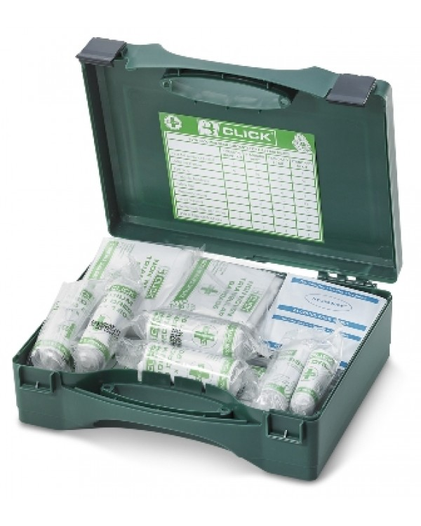 First Aid Kit Box (20 person) 24,20 Personal Protection BCFA20C bcm safety