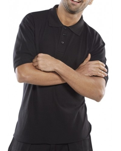 Polo Shirt Premium - Black