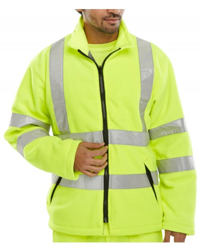 Hi Vis Fleece Yellow