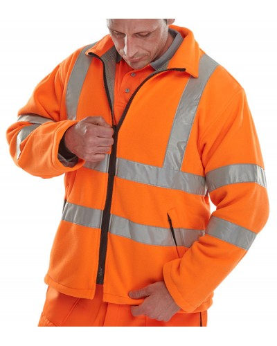 Hi Vis Fleece Orange