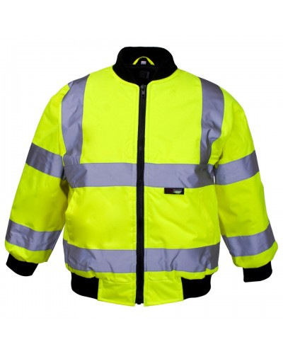 Child's Hi Vis Bomber Jacket
