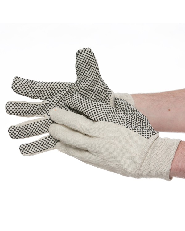 Cotton Polka Dot Gloves 0,00 Gloves B9365C bcm safety