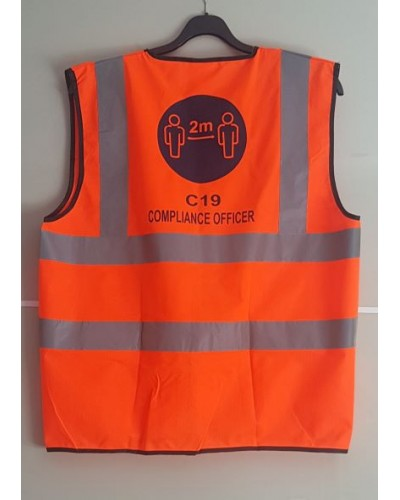 COVID-19 COMPLIANCE OFFICER VEST