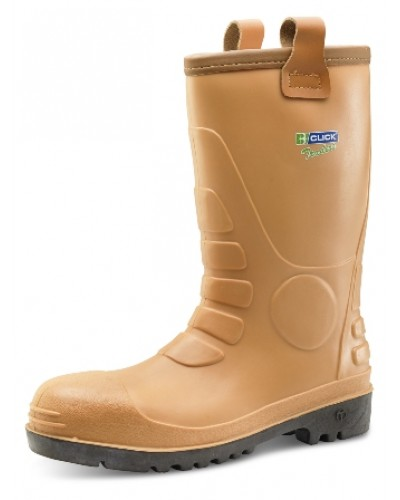 Click Eurorig Rigger Boot Tan PVC