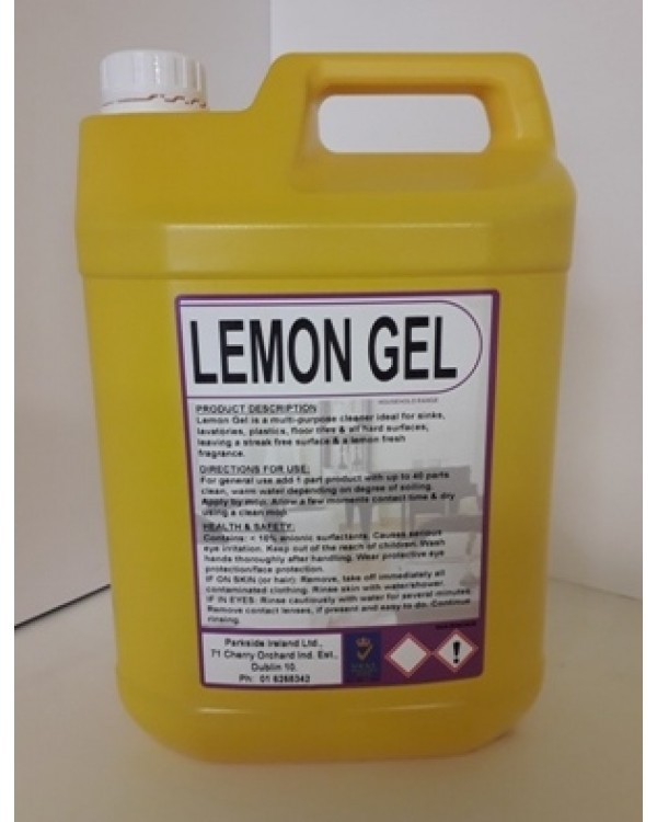 Lemon Floor Gel 13,92 Paper & Cleaning BCC11C bcm safety