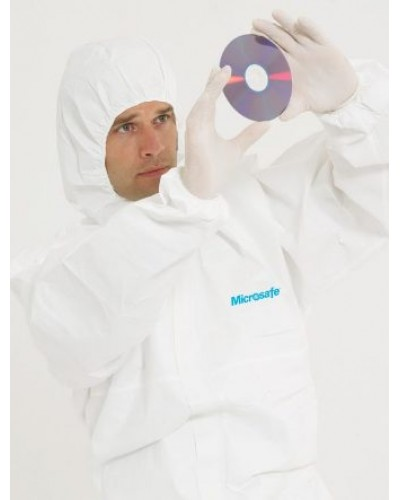 Hooded Disposable Overalls - Microsafe