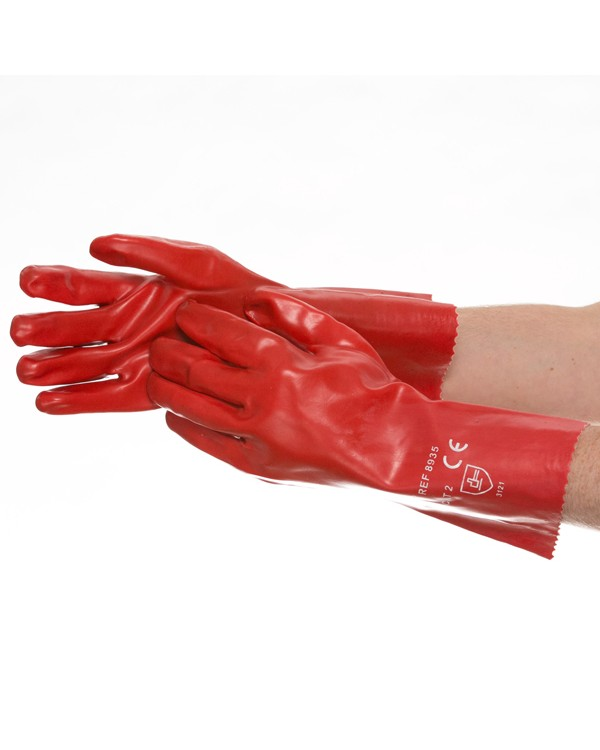 PVC Gauntlet 35cm 3,03 Gloves B8935C bcm safety -