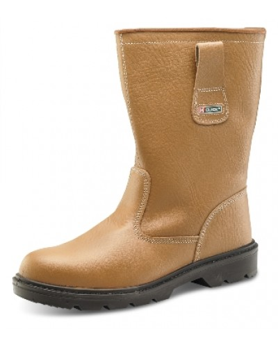 Click Rigger Boot Tan Lined
