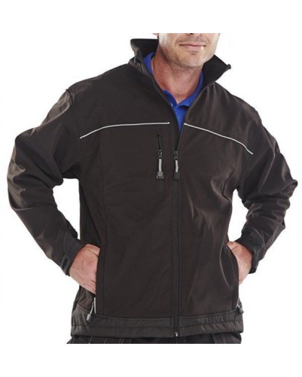 Soft Shell Jacket 44,17 Jackets BSSJBLC bcm safety