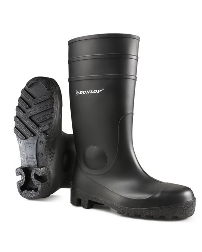 Dunlop Wellingtons Full Safety Black