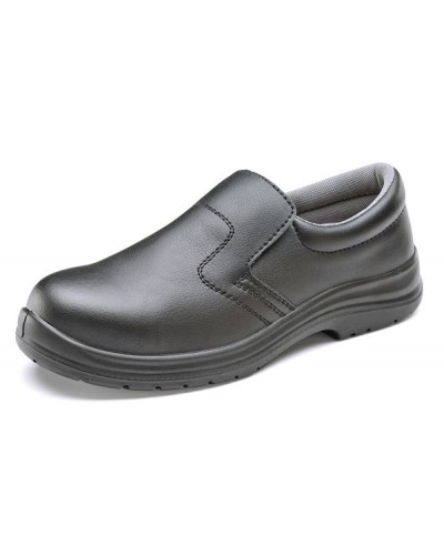 Click Shoe Slip On Black