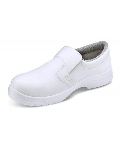Shoe White Slip On