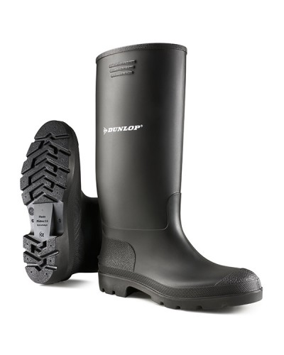 Dunlop Wellingtons Non Safety Black