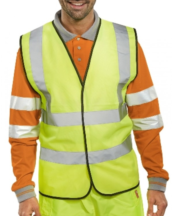 Hi Vis Vest 4,84 Jackets BWCENGC bcm safety