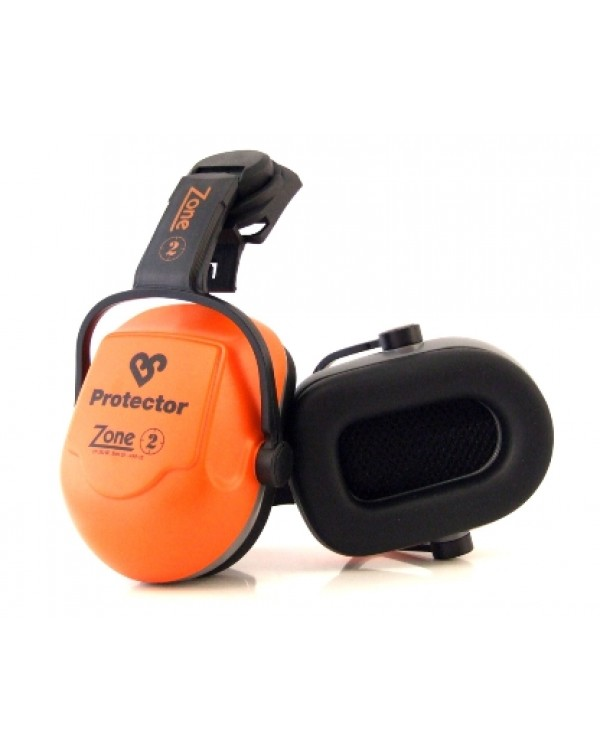 Muff Helmet Mounted Zone 2 0,00 Hearing Protection BZ2HMEC bcm safety