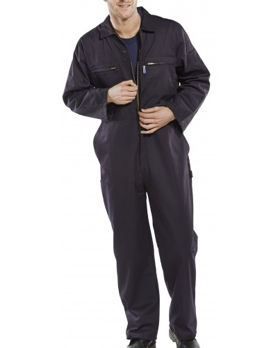 Boilersuit Super Stud & Zip Navy