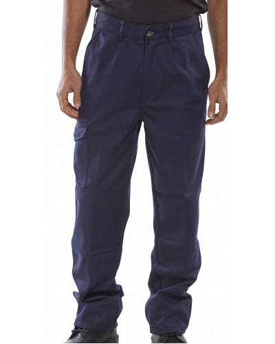 Trousers 9oz Navy