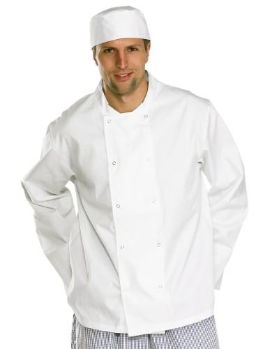 Chefs Jacket Long Sleeve White