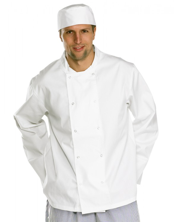 Jacket LS White 20,33 Chefs Clothing BCCCJLSWC bcm safety