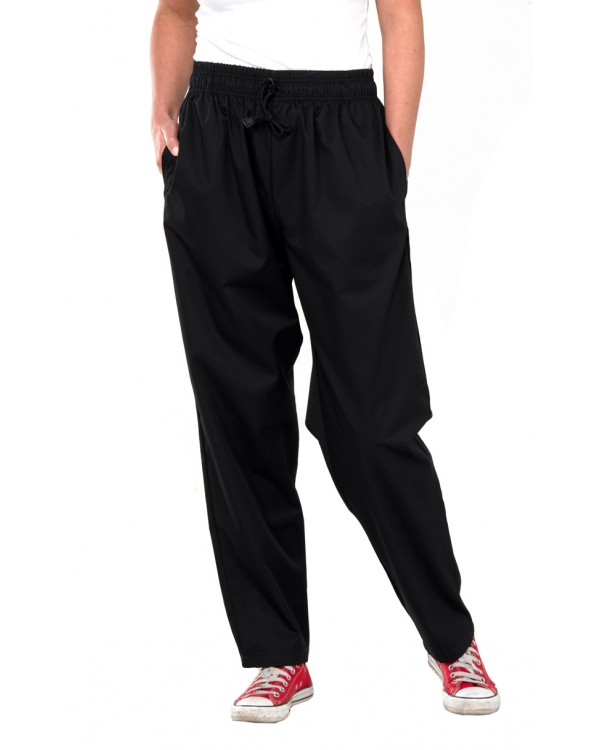 Chefs Trousers Black 22,93 Chefs Clothing BCCCTBLC bcm safety